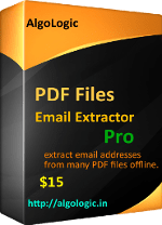 extract email addresses from pdf files