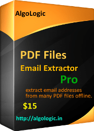 PDF File Email Extractor Pro Screen shot